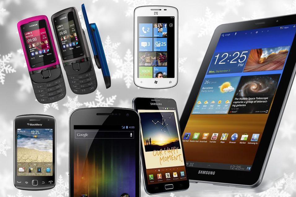 Her er desember-mobilene