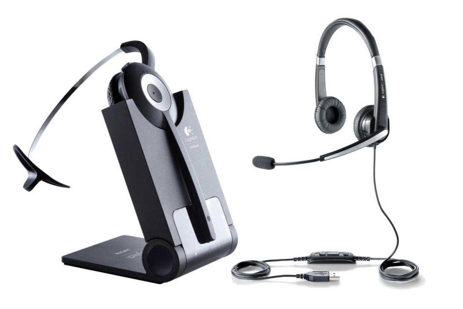 Logitech lanserer headsets til jobben