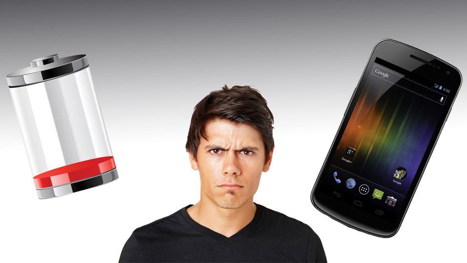 Klager over elendig batteri i Galaxy Nexus