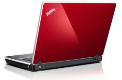 Lenovo ThinkPad Edge E520 i rød utførelse.