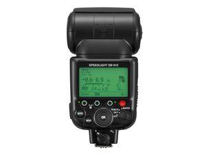 Baksiden av Nikon SB-910.