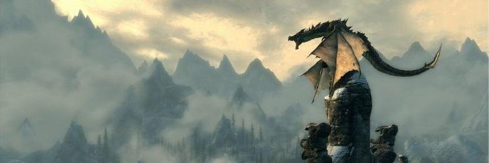 Dragene flyr baklengs i Skyrim