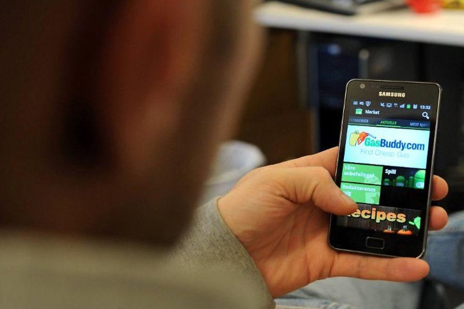Hackere har nå rettet blikket med Android-telefoner. Foto: Terje Pedersen, ANB