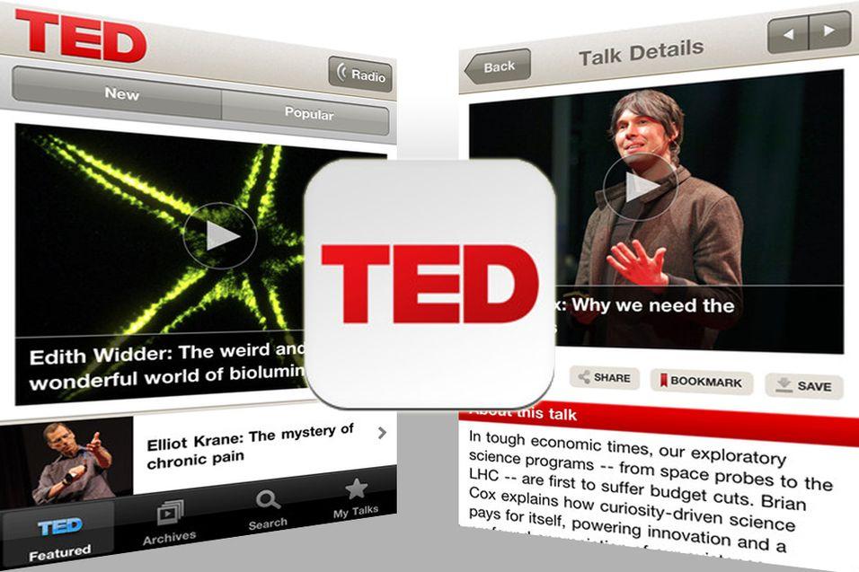 Nå kommer TED til iPhone