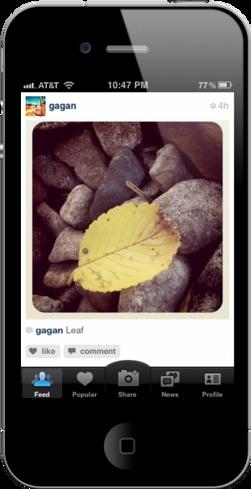 Instagram lar deg legge kule effekter på bildene du tar med mobilkameraet, før du deler bildene med venner og bekjente.