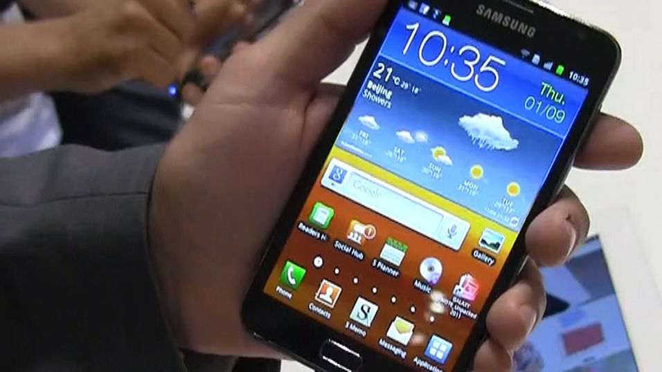 TEST: Samsung Galaxy Note
