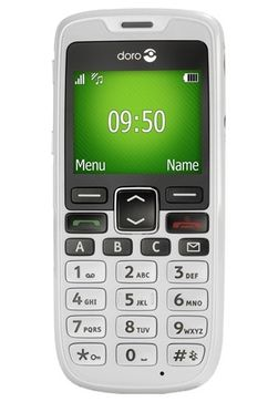 Doro PhoneEasy 510 er en mobiltelefon som er enklere å bruke for den som sliter med svak finmotorikk eller dårlig syn.