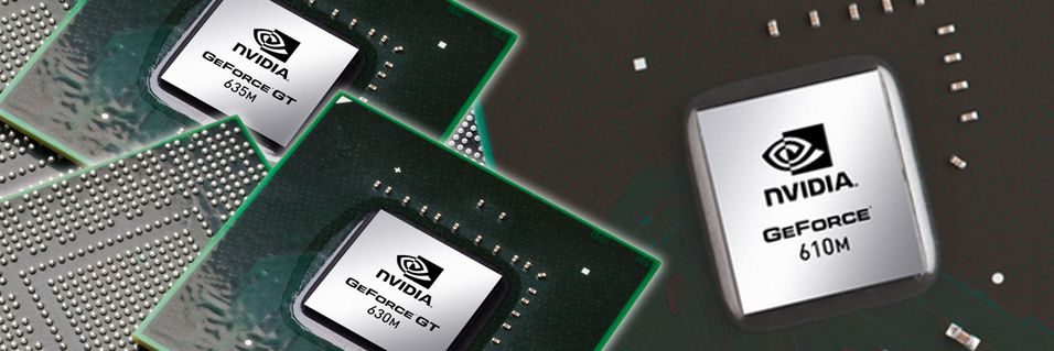 Nvidia slipper GeForce 600M