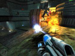 Nexuiz ligner mye på de gamle Unreal Tournament-spillene.