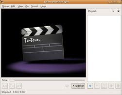 Totem er et godt alternativ til VLC.