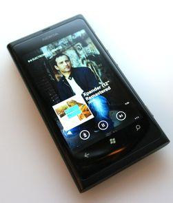 Slik ser Nokias musikktjeneste ut på Windows Phone 7.5.