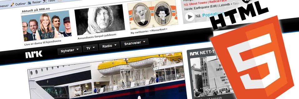 NRK satser på HTML5