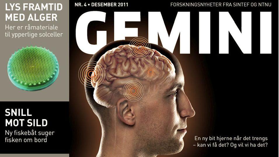 Populærvitenskapelig magasin på iPad