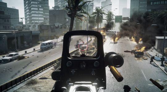 Skjermbilde fra Battlefield 3.