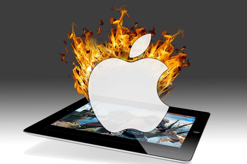 Eksplosjon i Apple-fabrikk