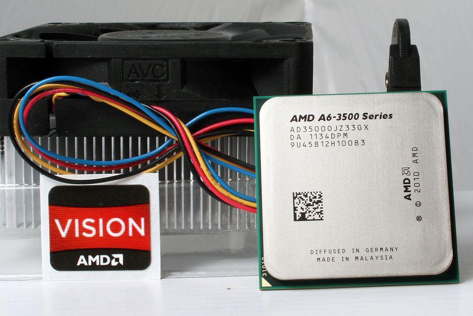 TEST: AMD A6-3500