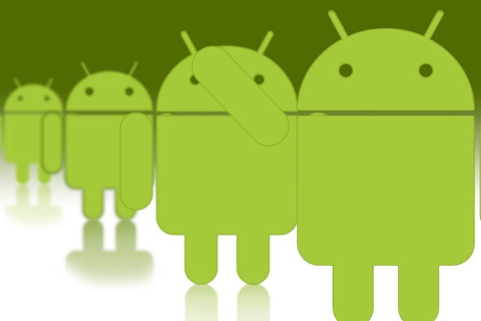 Android blir stadig større og større. (illustrasjon: Niklas Plikk)