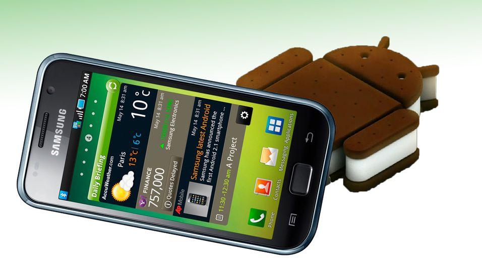 Samsung Galaxy S kan få Android 4.0