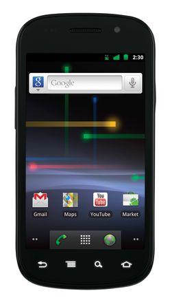 En av de store nyhetene i Android 2.3 var NFC-støtten. Referansetelefonen Nexus S hadde leser for NFC-tagger i