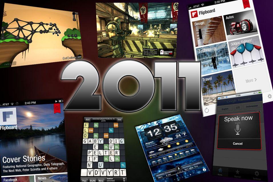Disse iPhone-appene var best i 2011