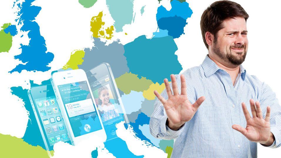 Europa velger bort iPhone