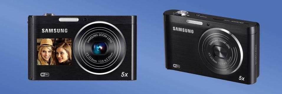 Dette kameraet styres med mobilen