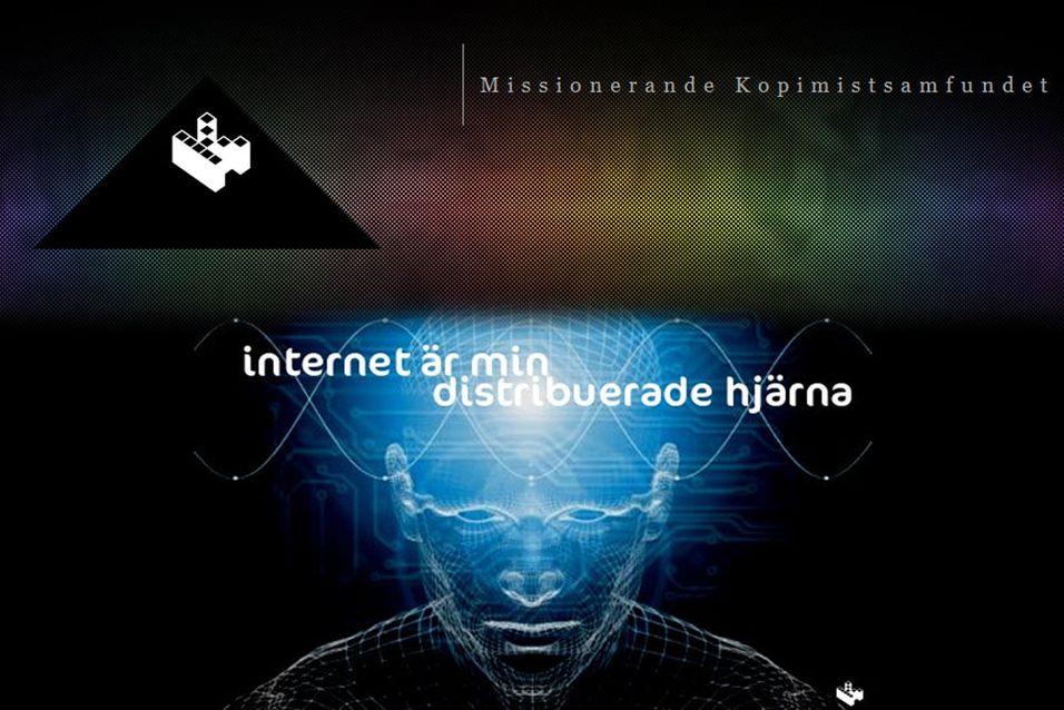 Kopimismen har fått fotfeste i Sverige, og er nå et godkjent ord i det svenske språket.