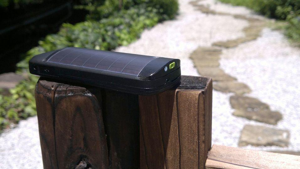 Nokia Lokki har solcellepanel på baksiden. Men du skal bo et sted med mye sol for at telefonen skal være særlig nyttig, viser Nokias undersøkelse.