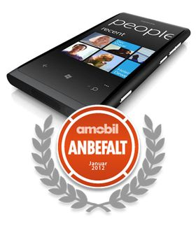 Nokia Lumia 800 fikk vårt Anbefalt-stempel da vi testet den i januar. .