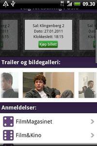 Filmweb-appen kom til Android Market i januar 2011.