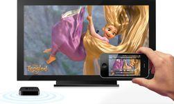 AirPlay lar deg både speile innhold fra mobilen eller nettbrettet ditt, men også sende over videoer fra for eksempel YouTube direkte over på TV-skjermen.