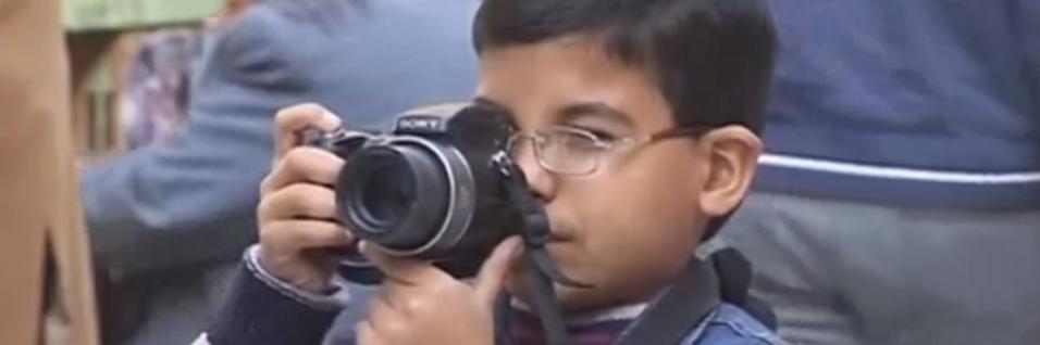 Han er Iraks yngste proff-fotograf