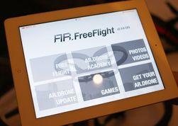 Den nye dronen får en helt ny app. Denne skal være et slags senter for alt du kan gjøre med flygeleken, ifølge pressesjef Vanessa Loury i Parrot.
