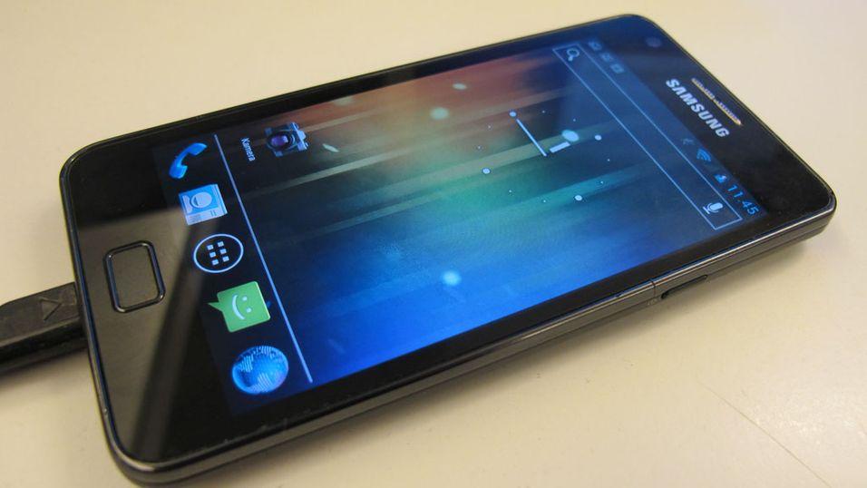 Snart får du Android 4 til Samsung Galaxy S II