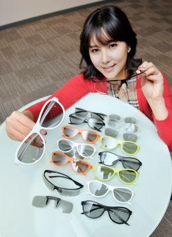 LG har samarbeidet med brilledesigneren Alain Mikli, og lanserer tre nye brillemodeller i 2012.