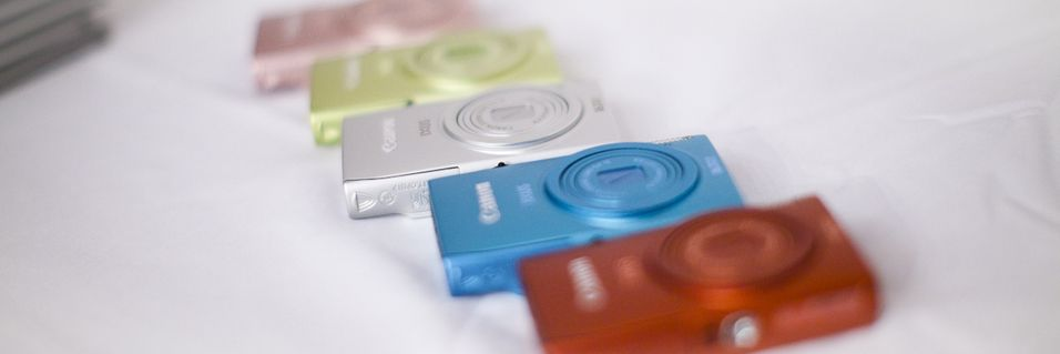 Fargefest med Canon-kompakter