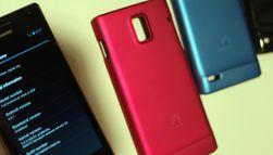 Ascend P1 og P1S kommer i mange ulike farger. I tillegg lager Huawei originale deksler til telefonene.
