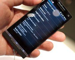 I første omgang slippes Xperia S med Android 2.3.7. Android 4.0 kommer, men ikke før i 2. kvartal av 2012.