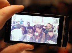 Xperia S har som de fleste tidligere Xperia-modeller ansiktsgjenkjenning i kamera-appen. Denne funksjonen er i ferd med å bli standard for Android-telefoner når Android 4.0 blir tilgjengelig i flere modeller.