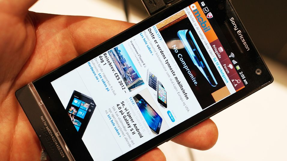 Nå er det slutt for Sony Ericsson