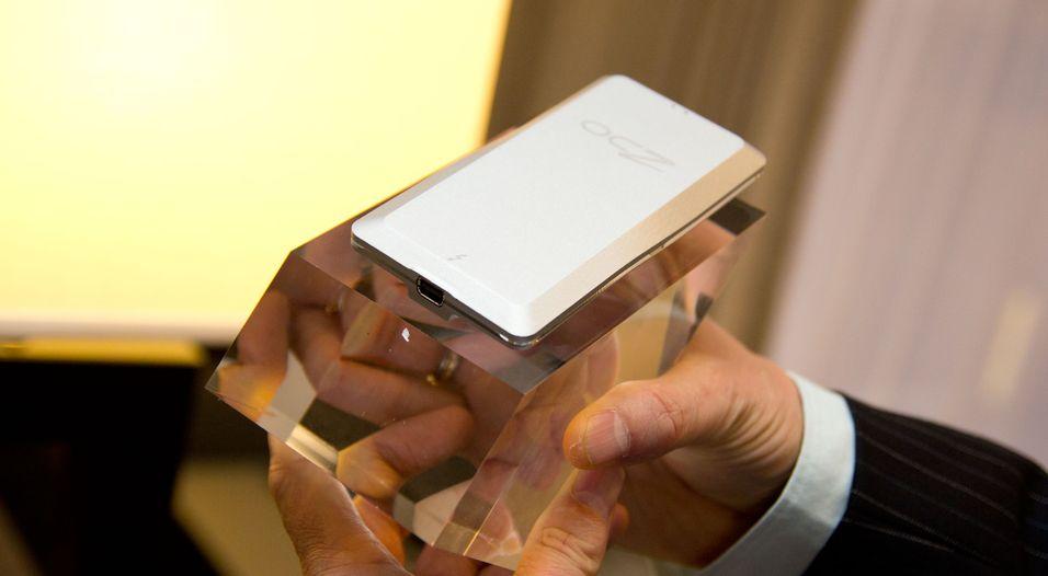 Viser superrask ekstern SSD