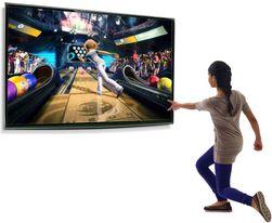Med applikasjoner direkte på TV-en og kamerasensorer som følger bevegelsene dine, kan du snart spille spill med hele kroppen, uten en eneste dedikert spillkonsoll.
