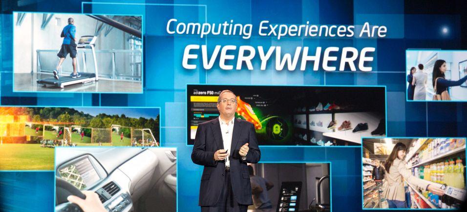 Intel satser på nye områder