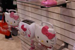 ... for ikke å snakke om de heite Hello Kitty-brødristerne.