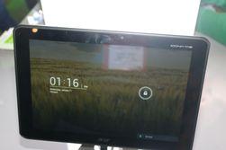 Android-nettbrettet Acer Iconia Tab 510 har en firekjerners Tegra 3-prosessor og vil bli levert med Android 4.0. (Foto: Finn Jarle Kvalheim)