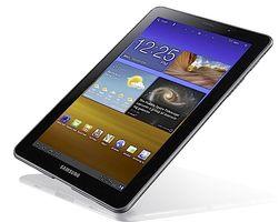 Samsung Galaxy Tab 7.7 bruker Super-AMOLED Plus-skjerm, som gir fantastisk bildekvalitet.