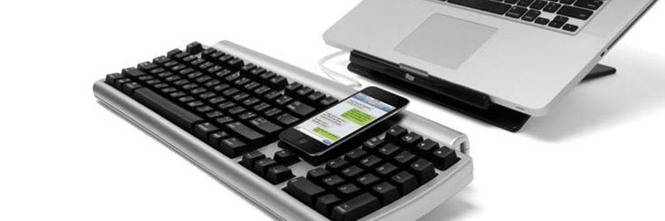Ett tastatur for smarttelefon  og  PC