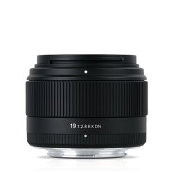 Sigmas nye 19mm F2.8 EX DN, ett av to nye objektiver i Sigmas nye DN-serie.