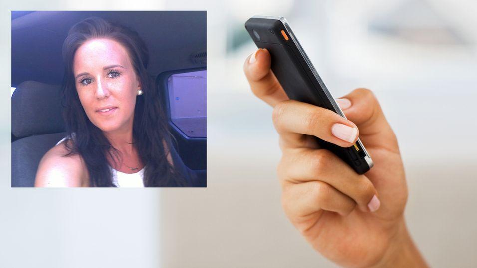 Susanne Mathiesen Monsen (23) sendte 4 812 tekstmeldinger på to måneder. (Foto: iStockphoto/privat)