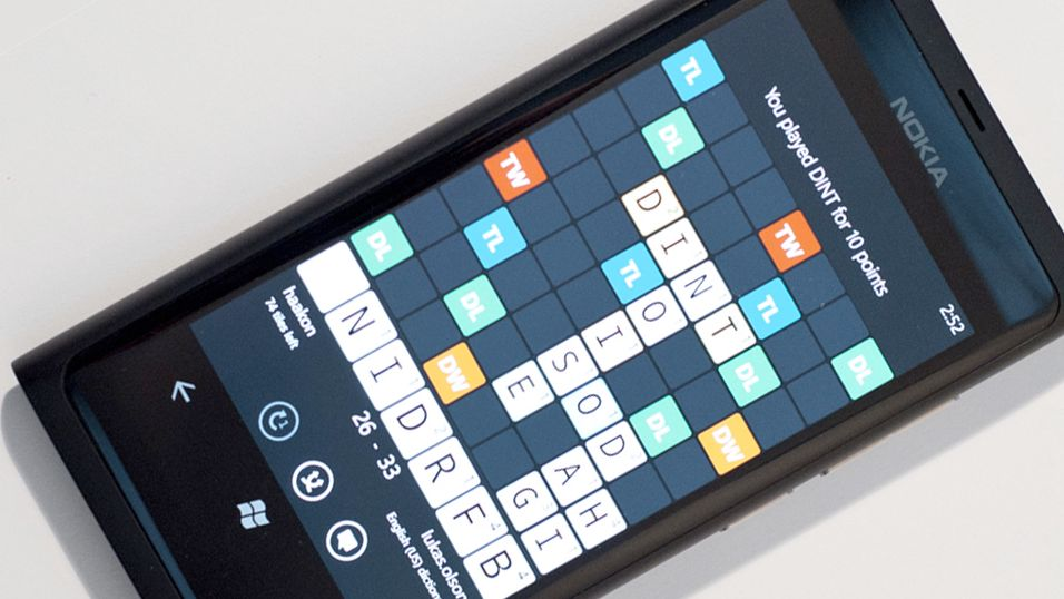 Wordfeud kommer til Windows Phone den 1. februar, samtidig med lanseringen av Nokia Lumia 800 i Norge.
